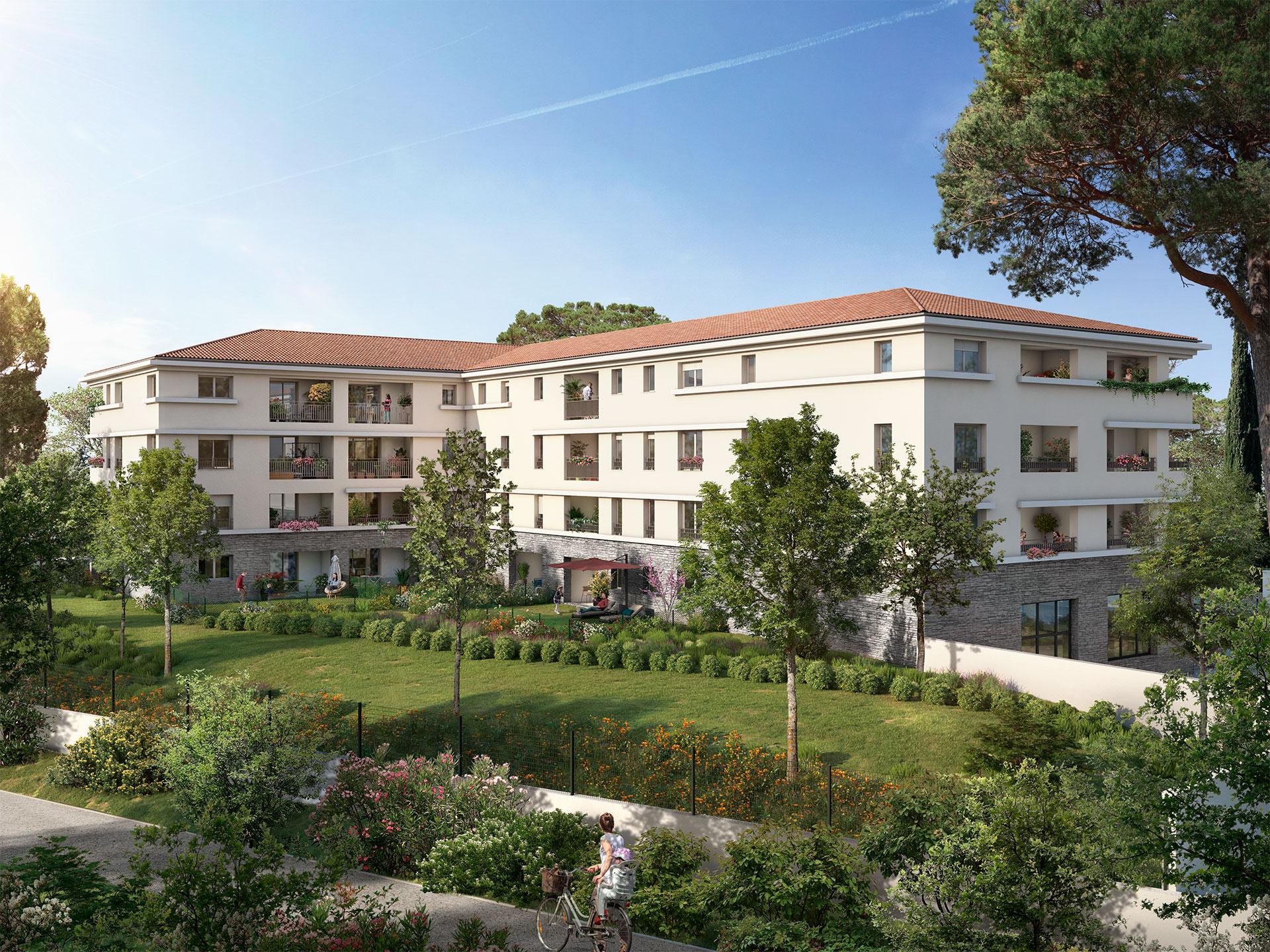 Programme immobilier Marseille 13ème (13013) À seulement 100 m du centre de Château-Gombert VAL115