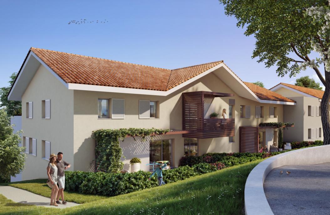 Programme immobilier Saint-Cergues (74140) Vue imprenable sur les Voirons CAP13