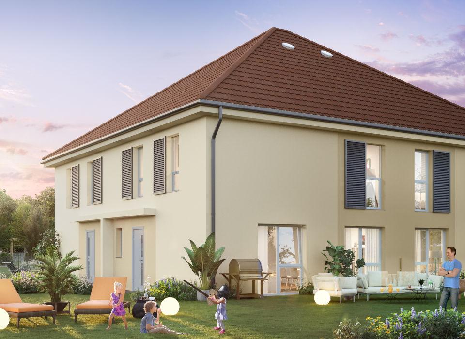 Programme immobilier CAP14 appartement à Arenthon (74800) Bordée par la rivière de l'Arve