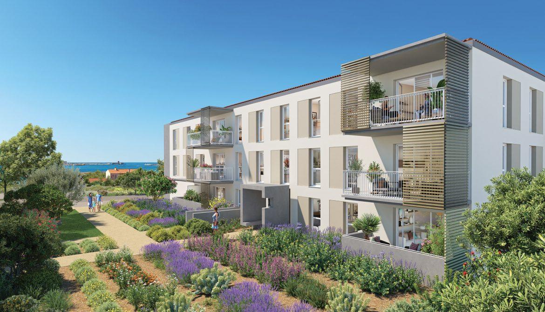 Programme immobilier Port De Bouc (13110) Quartier Neuf LNC37