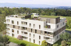 Programme immobilier BOW11 appartement à Collonges-Sous-Saleve (74160) Située à 500m de la frontière Suisse
