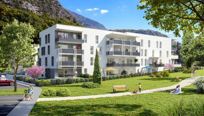 Programme immobilier ALT90 appartement à Challes-Les-Eaux (73190) Au pied des montagnes