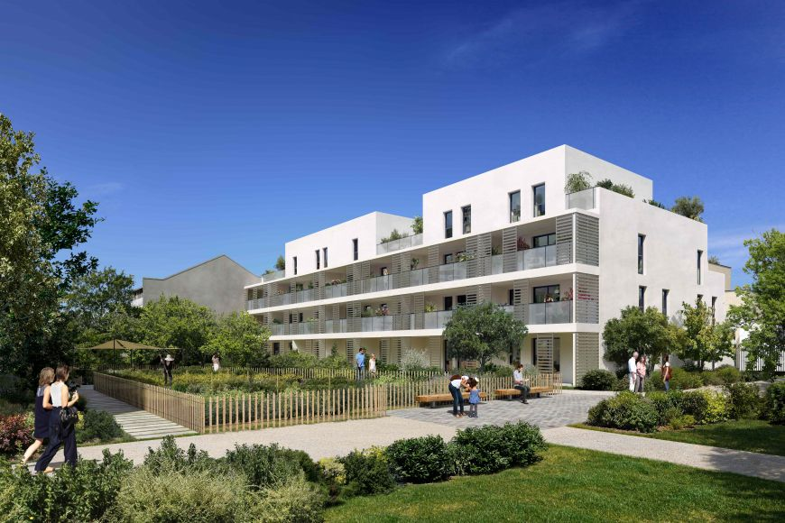 Programme immobilier ICA26 appartement à Villeurbanne (69100) Quartier République