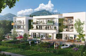 Programme immobilier EUR20 appartement à Saint-Egrève (38120) La nature aux abords de la ville