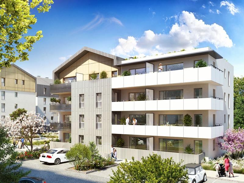 Programme immobilier BOW12 appartement à Bons-En-Chablais (74890) Vues exceptionnelles sur les Alpes