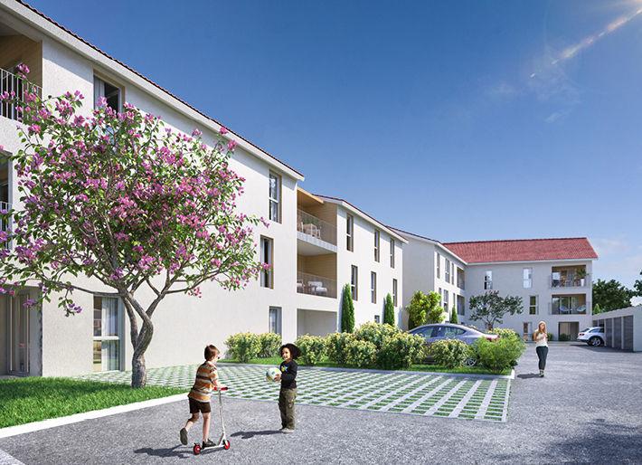 Programme immobilier AST6 appartement à Béligneux (01360) Proche centre ville