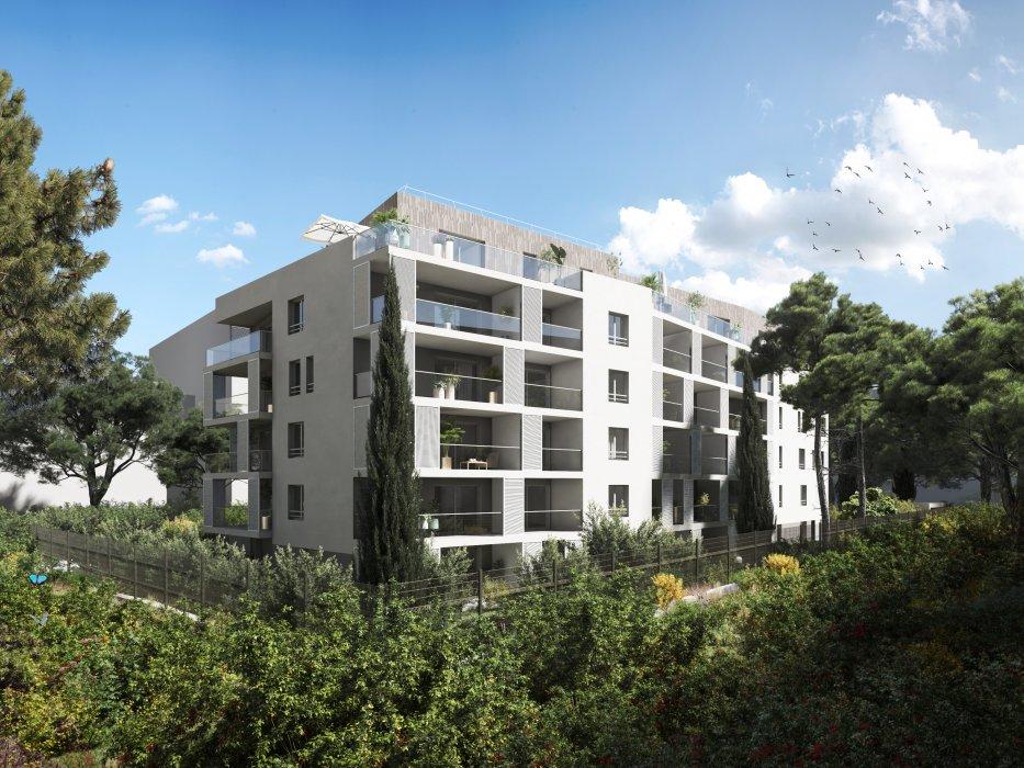 Programme immobilier Marseille 10ème (13010) Quartier Saint-Tronc BOW17