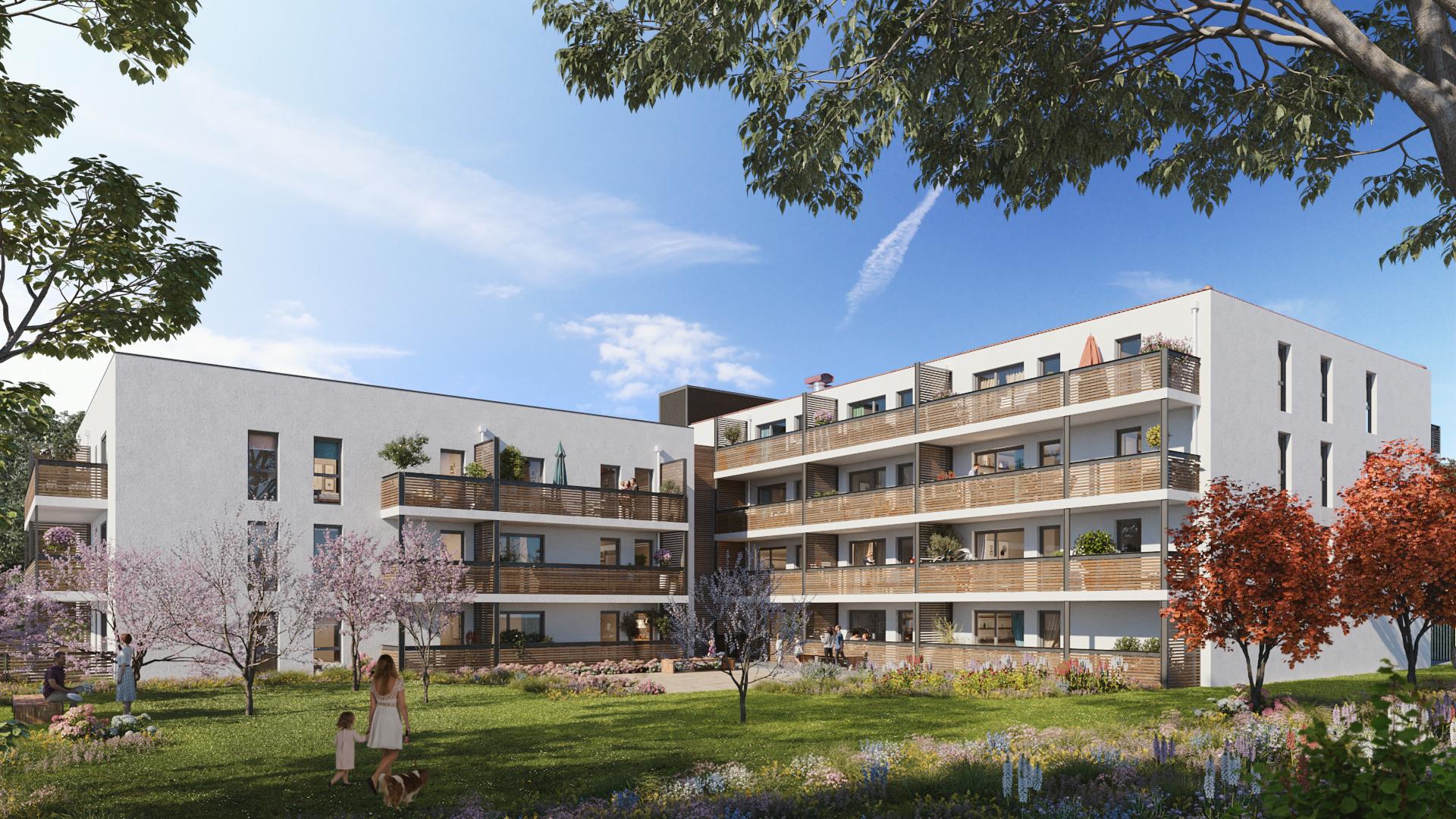 Programme immobilier CO16 appartement à Vaulx-en-Velin (69120) Carré de Soie