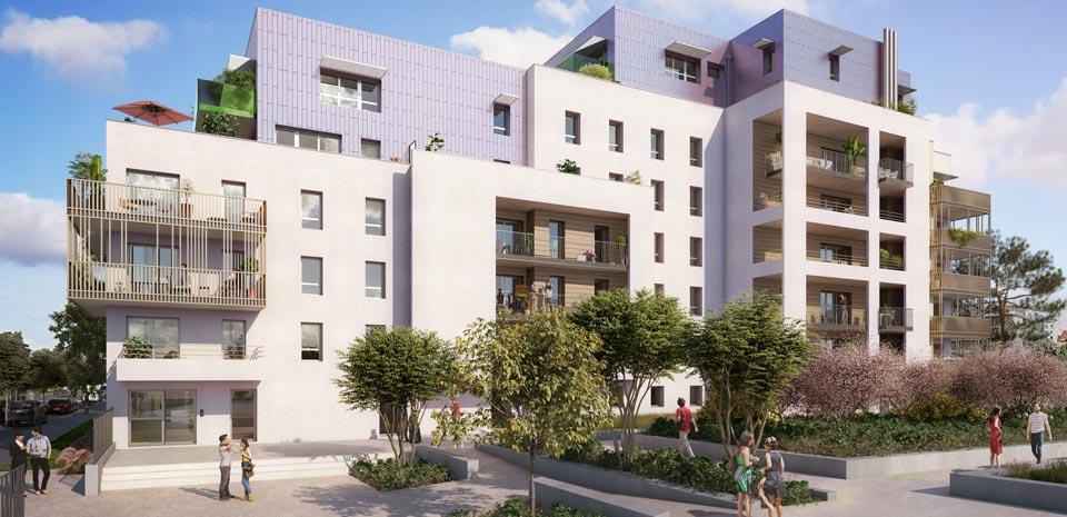 Programme immobilier Grenoble (38000) Situé dans le quartier Berriat EIF3