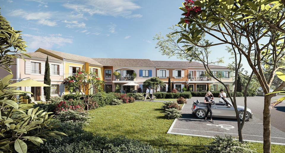 Programme immobilier CRA17 appartement à Puget Sur Argens (83480) Au coeur de la nature