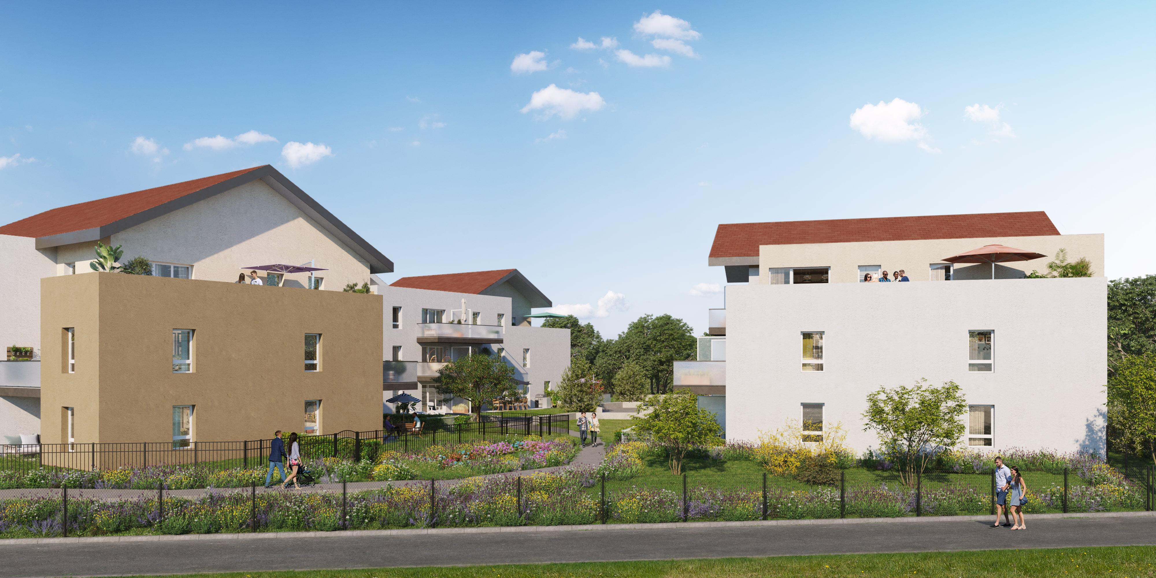 Programme immobilier Cluses (74300) Véritable havre de paix GRE2