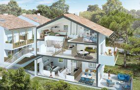 Programme immobilier BOW19 appartement à Chateauneuf-les-martigues (13220) À quelques minutes du centre-ville