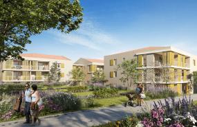 Programme immobilier SP12 appartement à Venelles (13113) Bien intégré à l'environnement urbain
