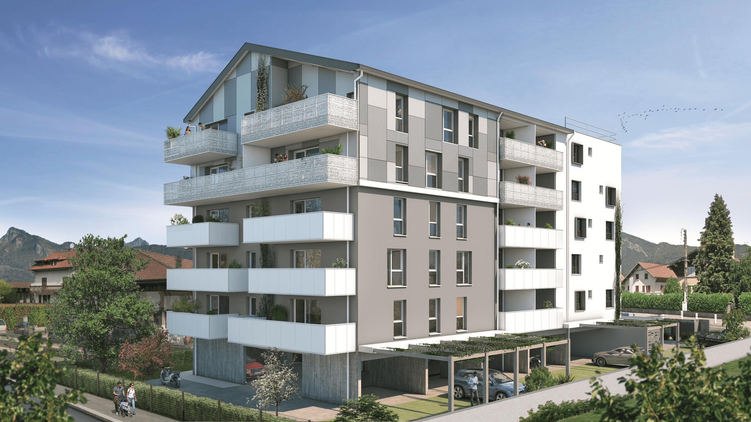 Programme immobilier GRE2 appartement à Cluses (74300) Implantée au coeur de la ville