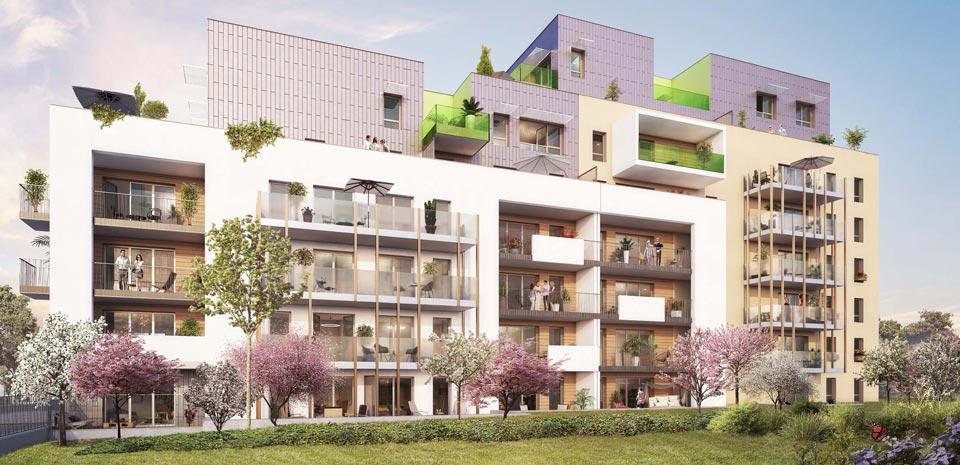 Programme immobilier EIF3 appartement à Grenoble (38000) Tout proche du centre ville