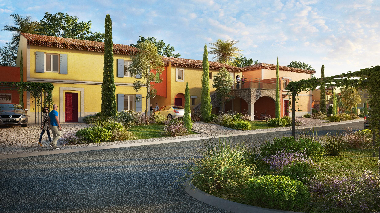 Programme immobilier VAL134 appartement à Grimaud (83310) Le charme provençal à deux pas du bord de mer