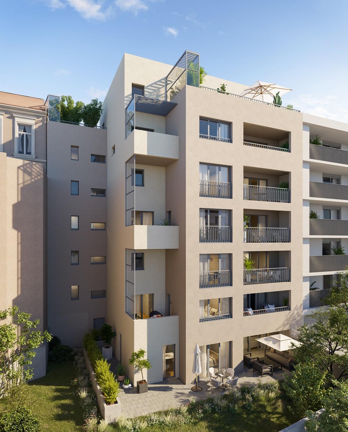 Programme immobilier Villeurbanne (69100) Dans une rue préservée de l'agitation du quartier des Charpennes GL1