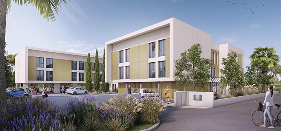 Programme immobilier PI38 appartement à Garde (83130) Au nord du centre-ville de La Garde