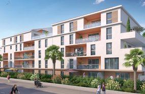 Programme immobilier URB7 appartement à Seyne Sur Mer (83500) Au Coeur de Porte Marine