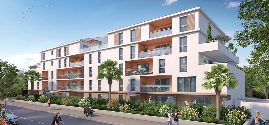 Programme immobilier PI41 appartement à La Seyne Sur Mer (83500) Quartier nord de La Seyne-sur-Mer