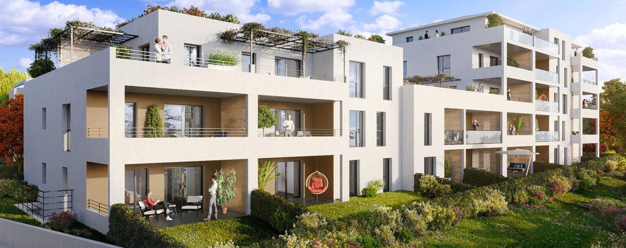 Programme immobilier VIN27 appartement à Marseille 11ème (13011) En plein coeur de ville