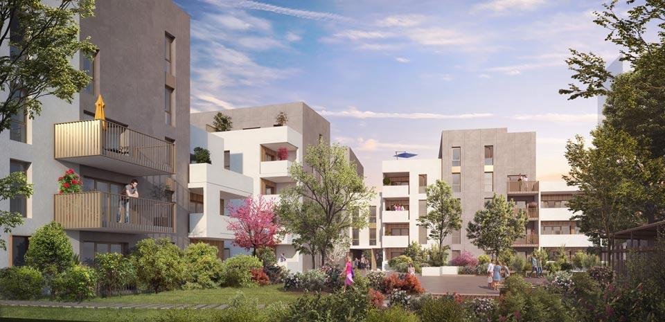 Programme immobilier Lyon 7ème (69007) En cœur de ville NEO17
