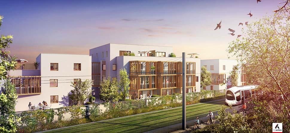 Programme immobilier Lyon 3ème (69003) Quartier de Montchat SAG9