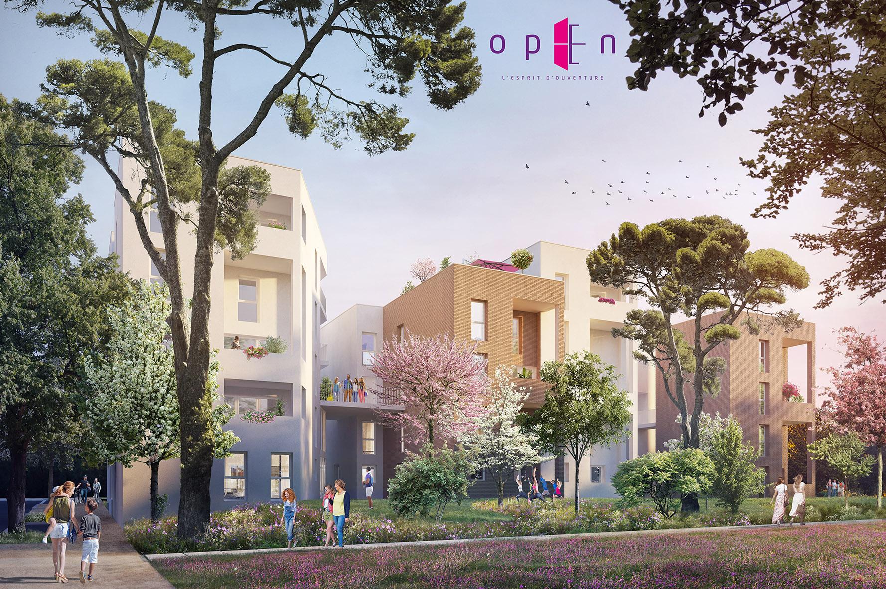 Programme immobilier SP13 appartement à Rillieux-la-Pape (69140) Architecture contemporaine