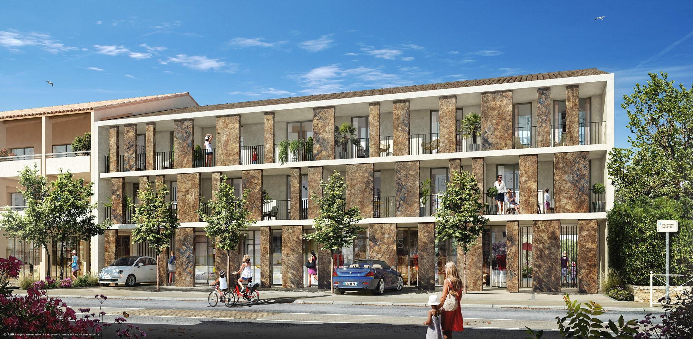 Programme immobilier Bormes Les Mimosas (83230) Quartier du Pin VAL81