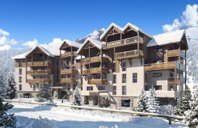 Programme immobilier EUR19 appartement à Oz (38289) Nichée à 1350 m d'altitude de l'Alpe d'Huez
