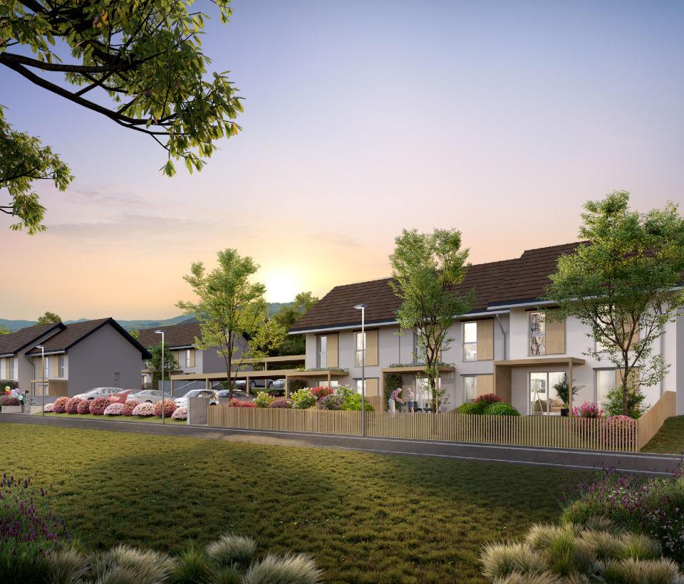 Programme immobilier CAP13 appartement à Saint-Cergues (74140) À moins de 500 m du centre-ville
