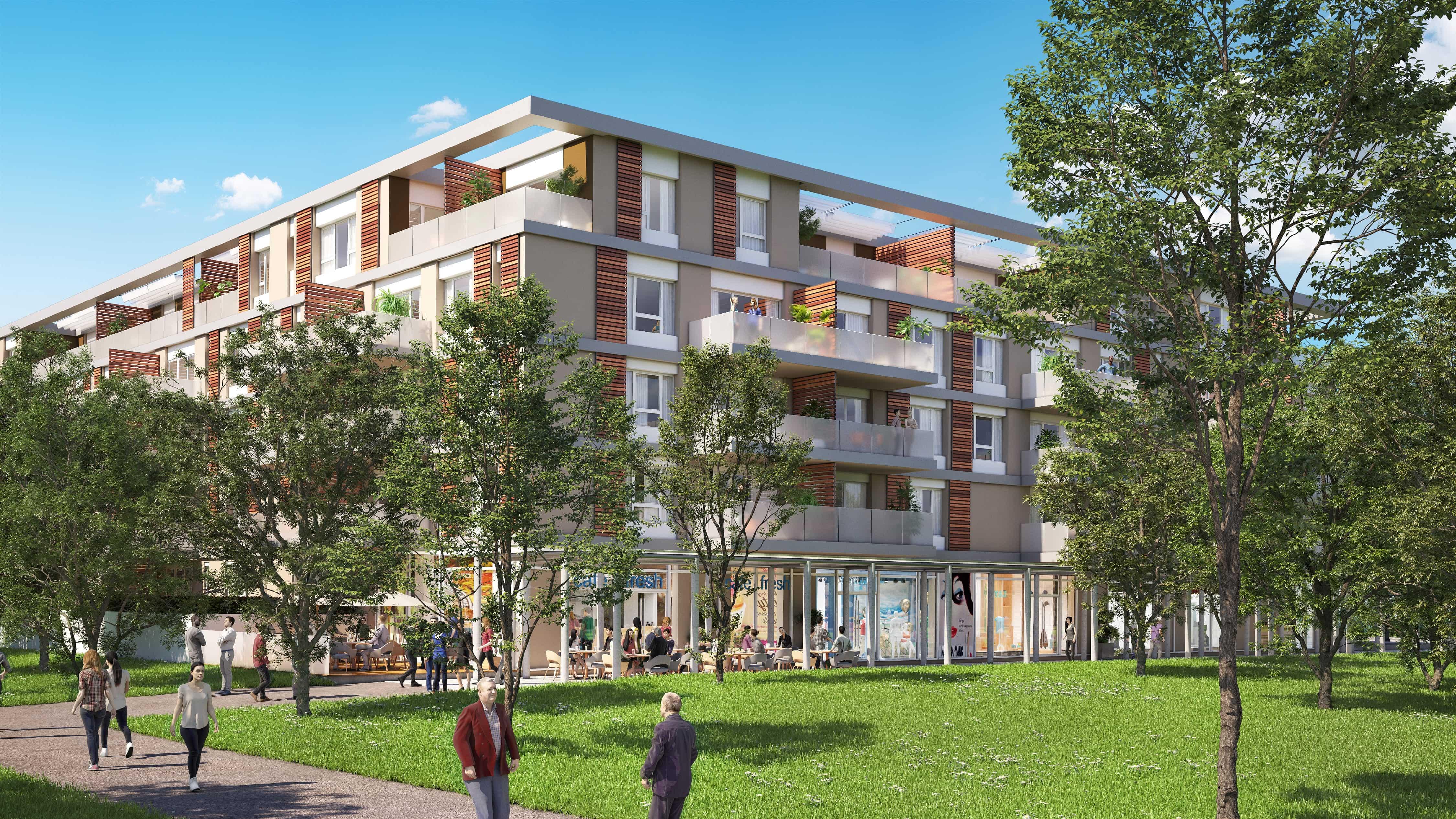 Programme immobilier Monteux (84170) Au cœur de l'Ecoquartier de Beaulieu Investissez en loueur meublé avec Answer Immobilier