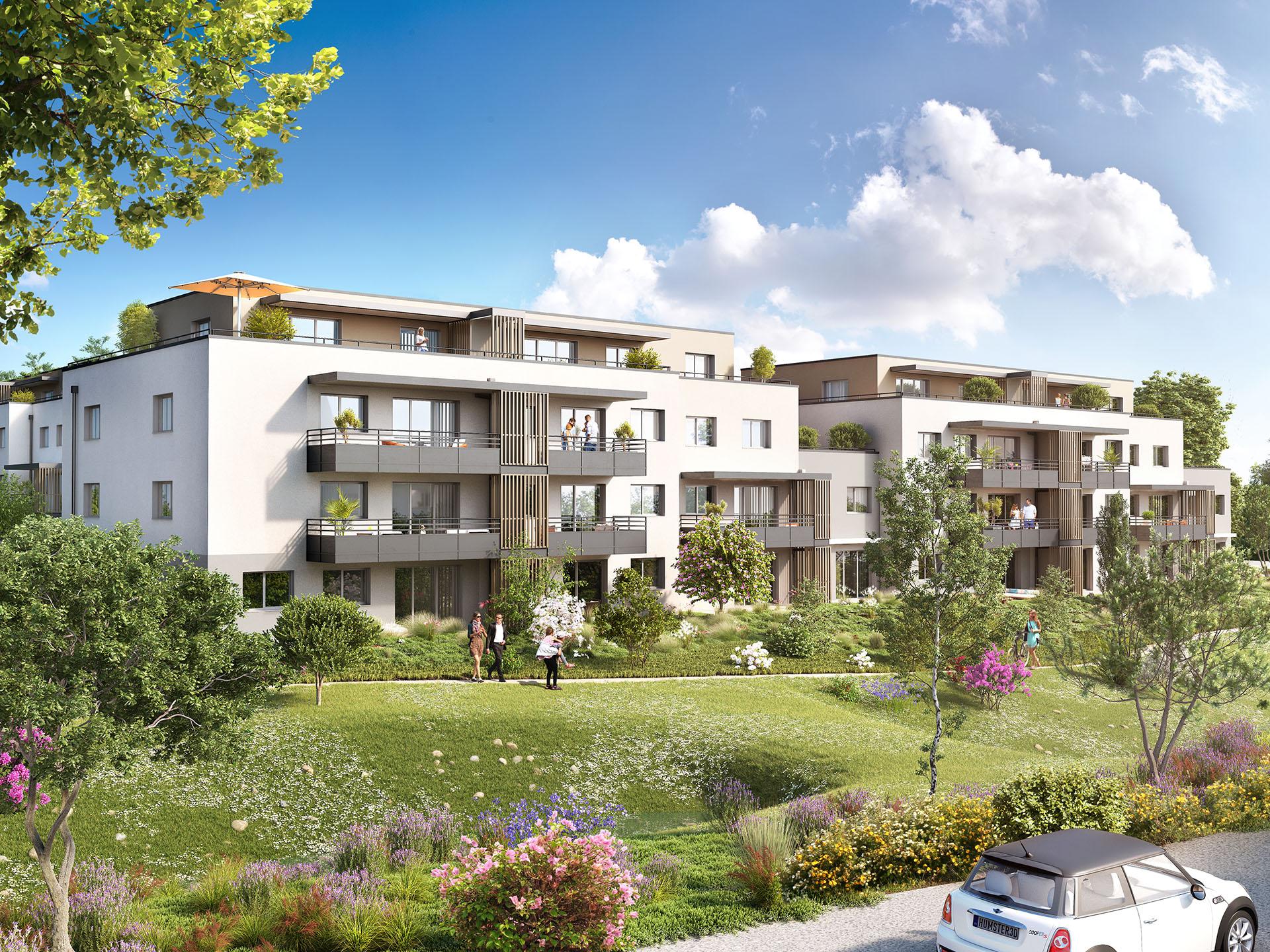 Programme immobilier BOW10 appartement à Ayze (74130) Nichée dans un écrin de verdure