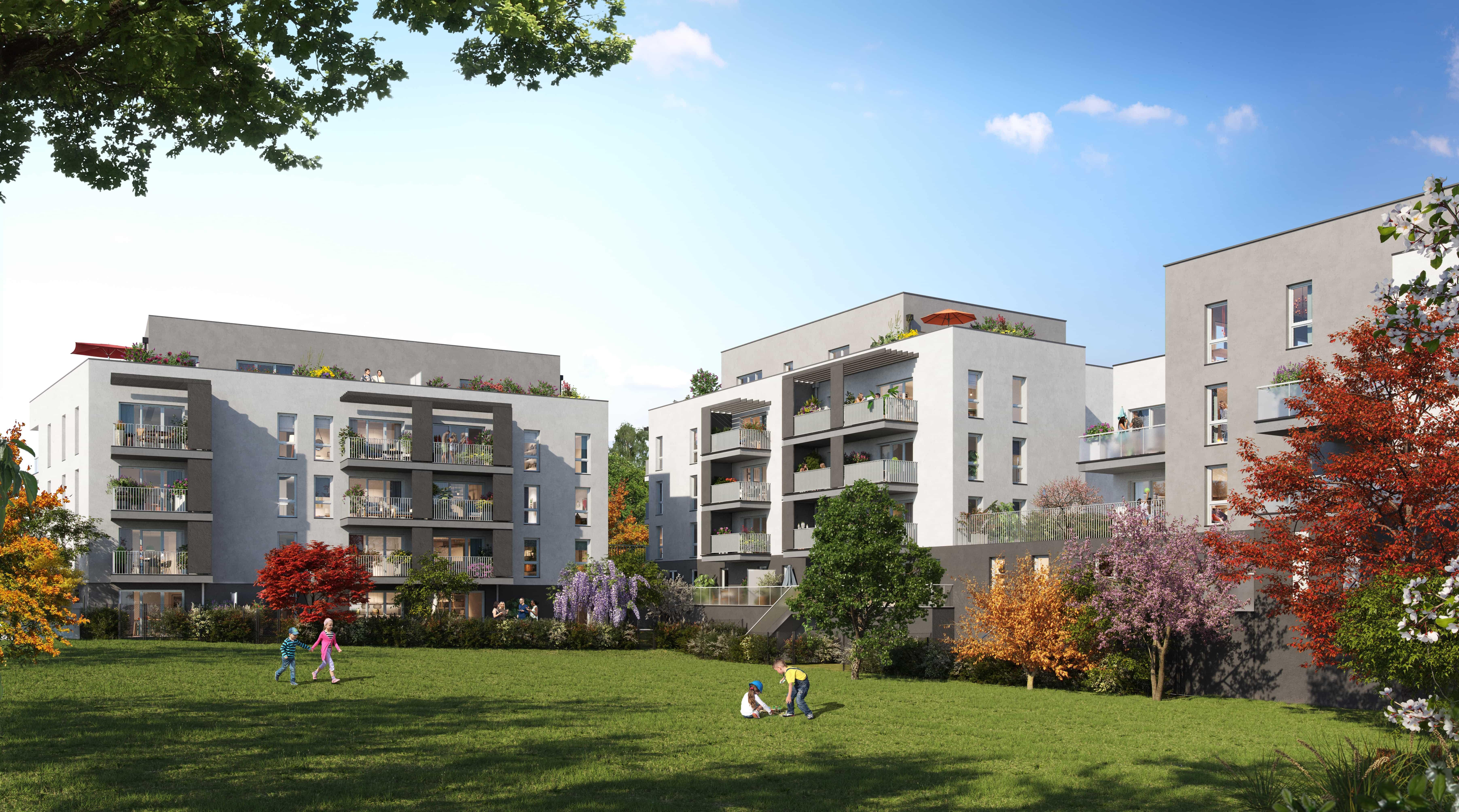Programme immobilier Neuville-sur-Saône (69250) Entre champs et forêts AJA12