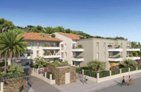 Programme immobilier BOW14 appartement à Lavandou (83980) Belle résidence à l'architecture contemporaine