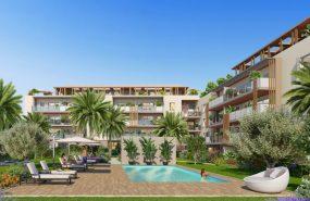 Programme immobilier ALT55 appartement à Frejus (83600) Enveloppés de Jardins Verdoyants