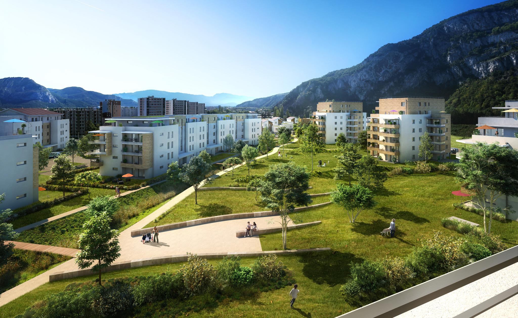 Programme immobilier VAL131 appartement à Sassenage (38360) Dans un véritable écrin de verdure