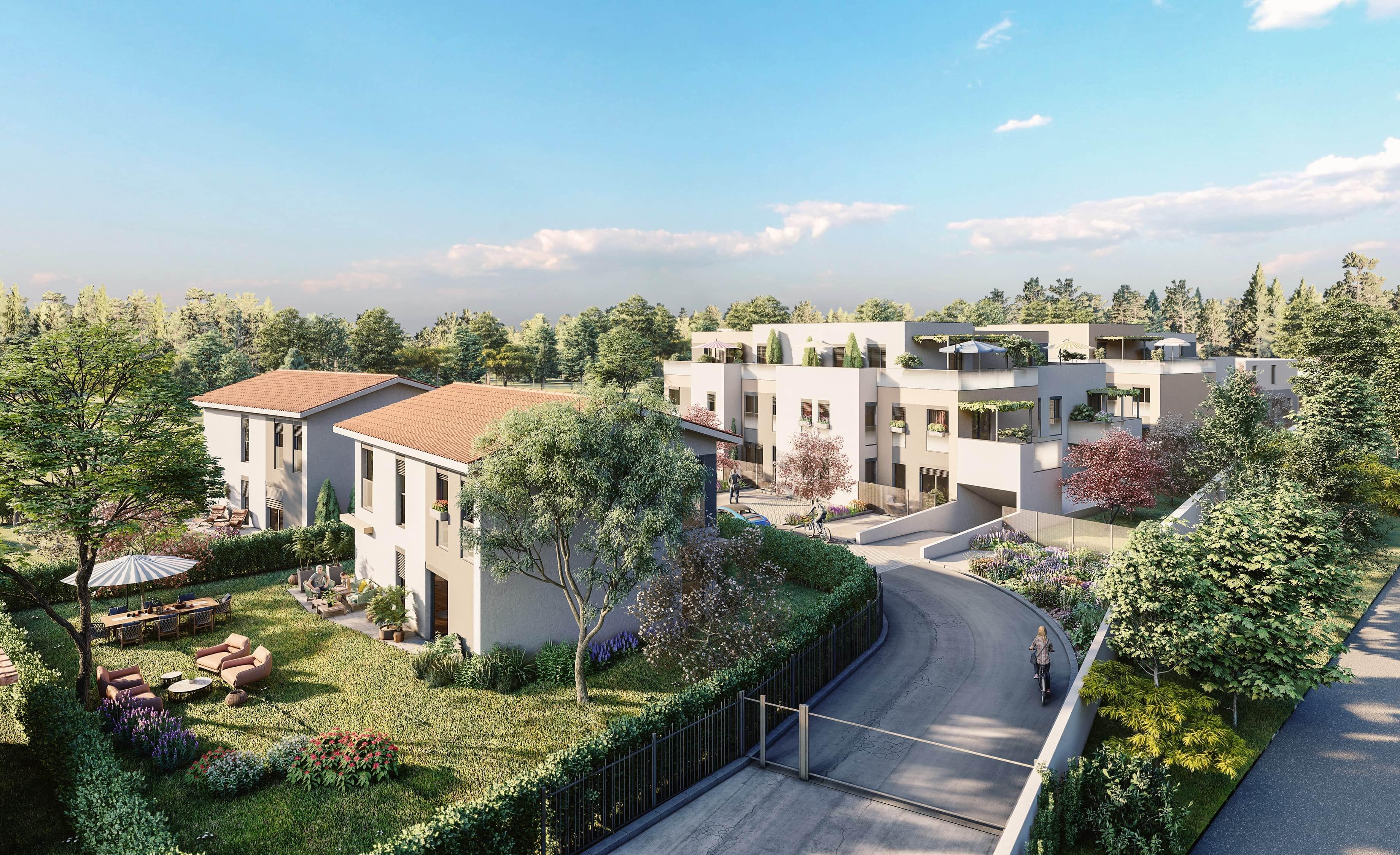 Programme immobilier Sainte-Foy-les-Lyon (69110) Plan du loup EIF4