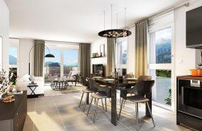 Programme immobilier VIN26 appartement à Pont de Claix (38800) Triple exposition rare