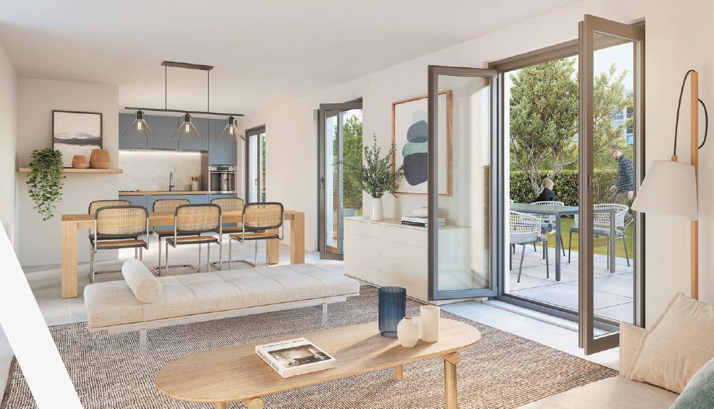Programme immobilier NEO17 appartement à Lyon 7ème (69007) Quartier de Gerland