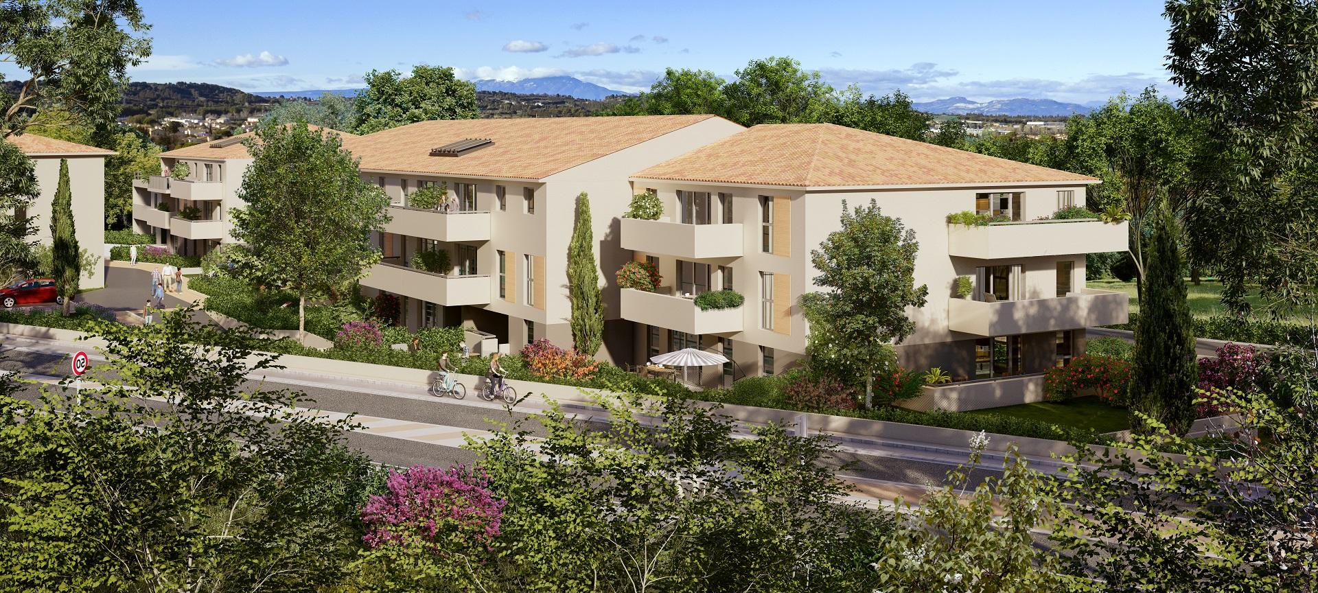 Programme immobilier EDE11 appartement à Morières-Lès-Avignon (84310) À moins de 10 minutes d'Avignon