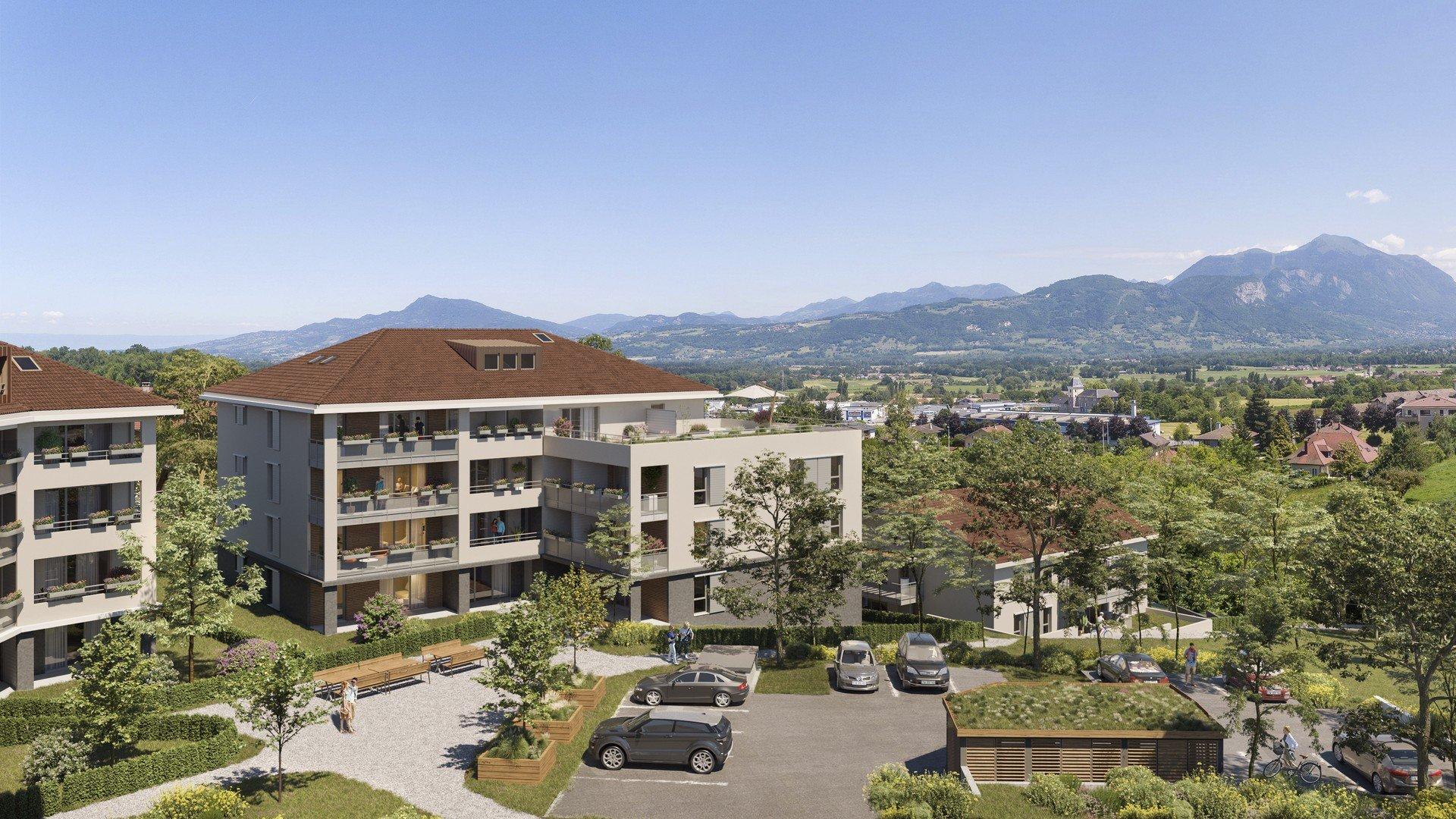 Programme immobilier EDO24 appartement à La Roche Sur Foron (74800) À 400 mètres du centre-ville
