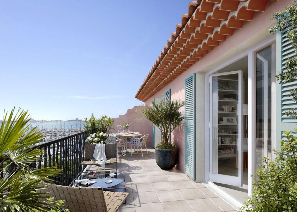 Programme immobilier LNC37 appartement à Port De Bouc (13110) Au coeur du Port Renaissance