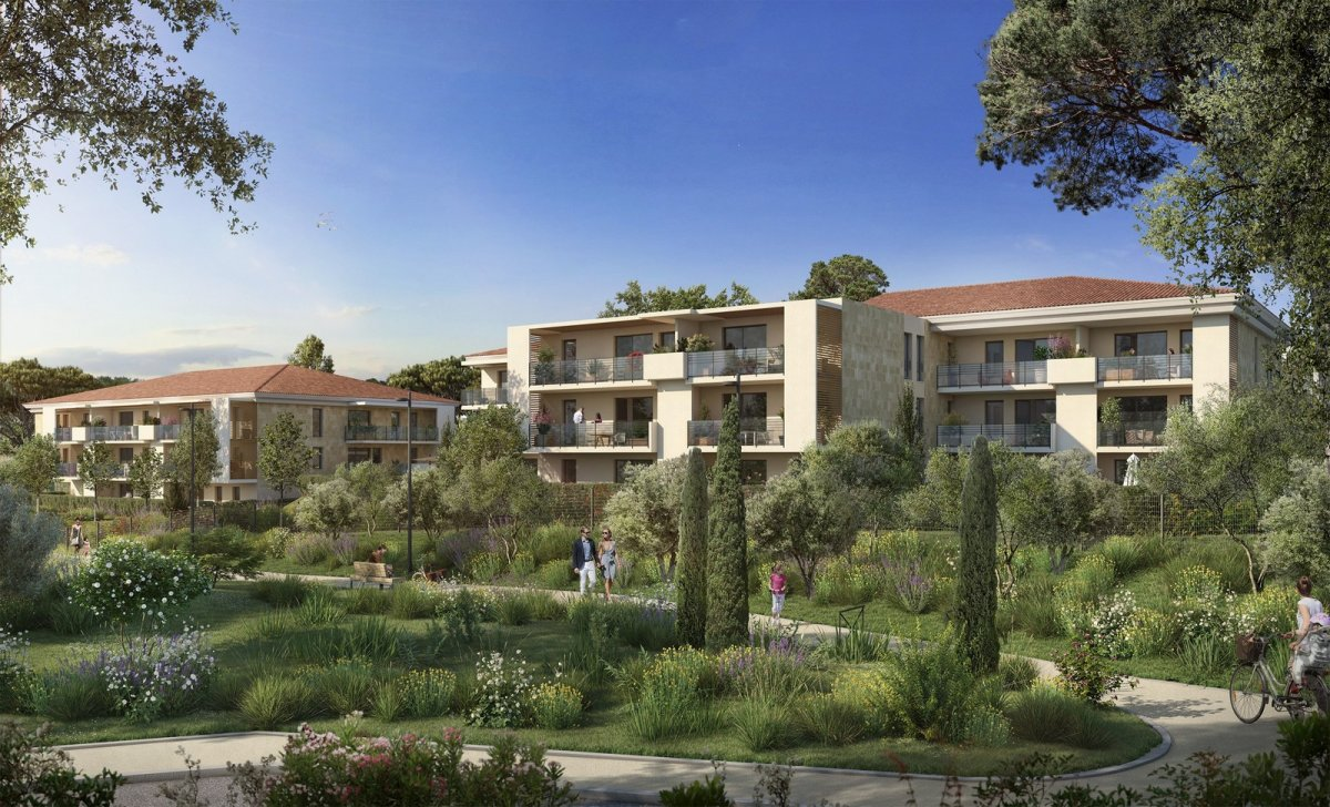 Programme immobilier OGI32 appartement à Aix-En-Provence (13100) Villa idéalement située