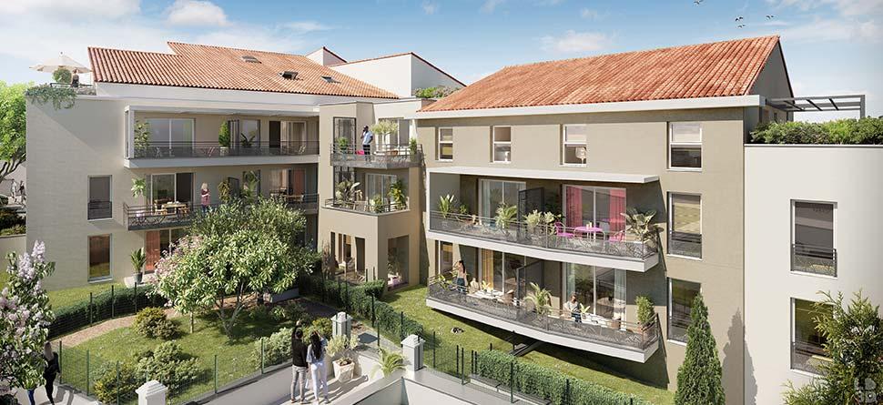 Programme immobilier Toulon (83000) Quartier Beaulieu, un environnement vivant et préservé VAL139