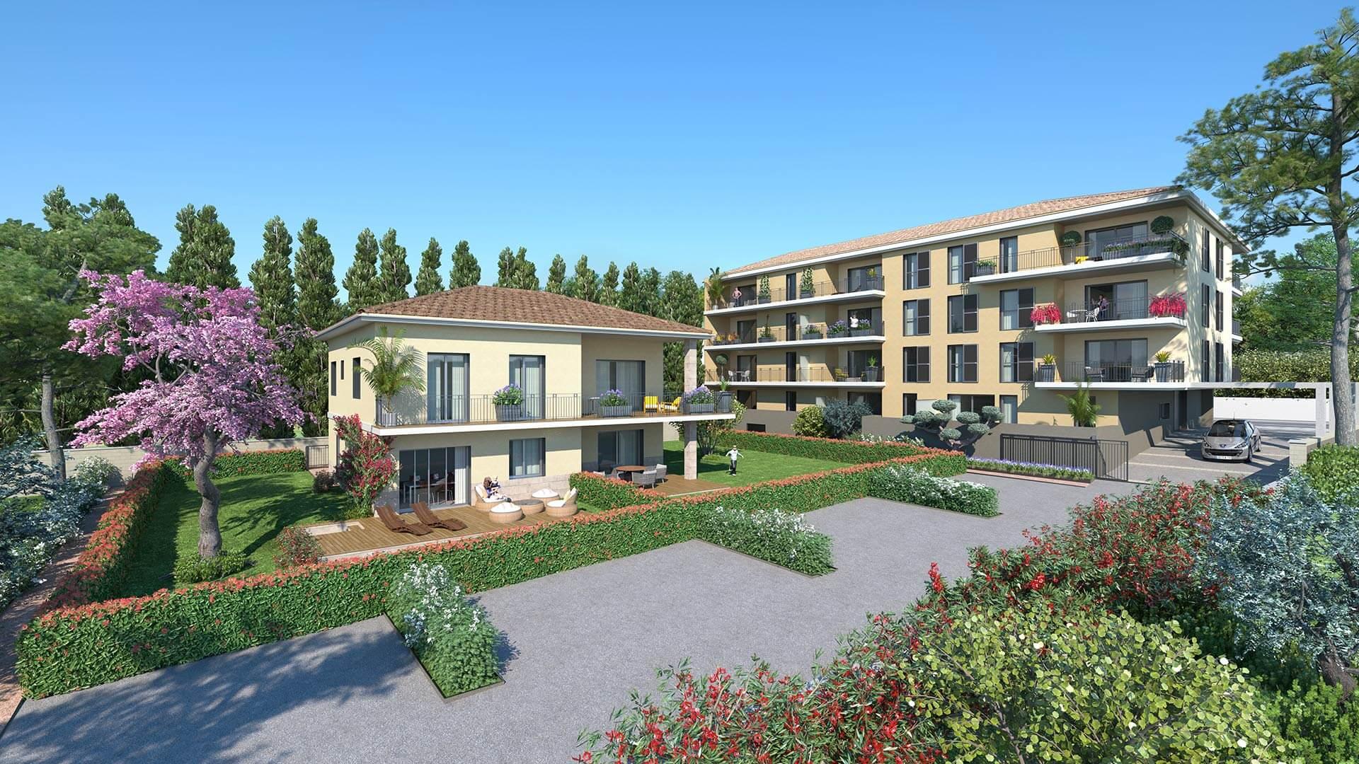 Programme immobilier Aix-En-Provence (13100) Une adresse prisée à Aix-en-Provence QUA7