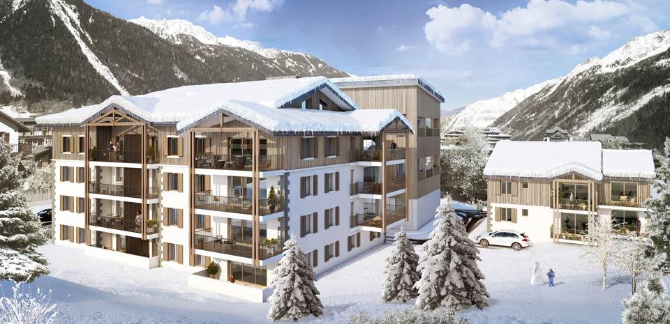 Programme immobilier EIF1 appartement à Chamonix Mont-Blanc (74400) A proximité du centre-ville de Chamonix