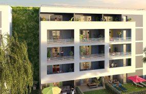 Programme immobilier PI39 appartement à Marseille 13ème (13013) Une résidence en ville, si proche de la nature