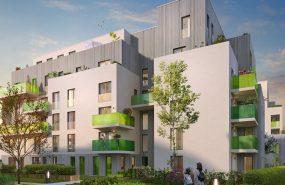 Programme immobilier GL1 appartement à Villeurbanne (69100) GRATTE CIEL