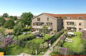 Programme immobilier LNC33 appartement à Bron (69500) CENTRE VILLE